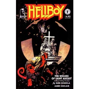 Hellboy: The Wolves of Saint August (1995) #1 VF/NM One-Shot Mike Mignola !