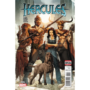Hercules (2015) #6 VF/NM