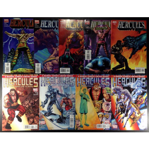 Hercules (2005) (2010) 1 2 3 4 5 (8.5) two complete sets Marvel Comics 9 books