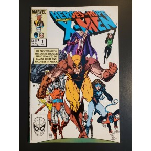 Heroes For Hope Starring the X-Men Comic Book #1 Marvel 1985 NM- UNREAD |