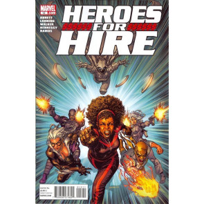 HEROES FOR HIRE #12 (2011) NM