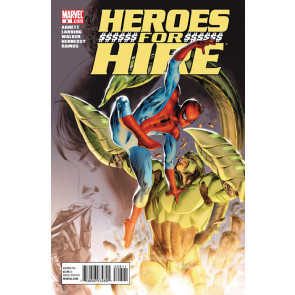 HEROES FOR HIRE #8 NM SPIDER-MAN SCORPION APP