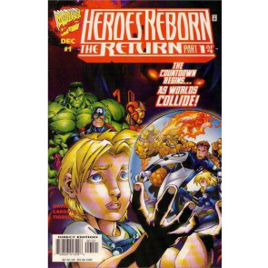HEROES REBORN THE RETURN #'s 1, 2, 3, 4 COMPLETE NM SET 8 BOOKS