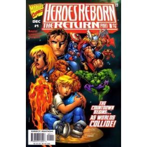 HEROES REBORN THE RETURN #'s 1, 2, 3, 4 COMPLETE NM SET