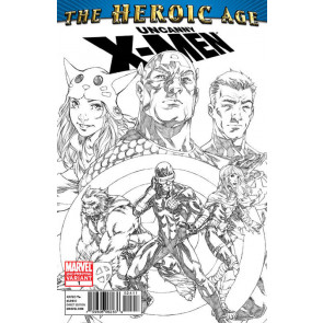 Uncanny X-Men: The Heroic Age (2010) #1 VF+ 2nd Printing