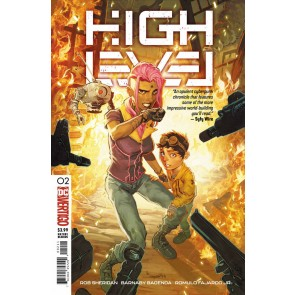 High Level (2019) #2 VF/NM Vertigo