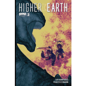 HIGHER EARTH #3 VF/NM COVER A BOOM!