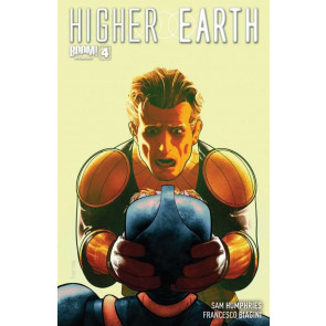 HIGHER EARTH #4 VF/NM COVER A BOOM!