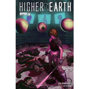 HIGHER EARTH #5 VF/NM COVER A BOOM!