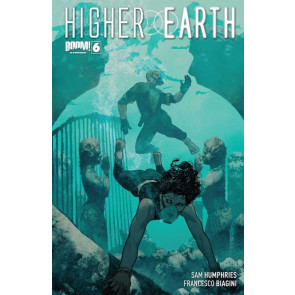 HIGHER EARTH #6 VF/NM COVER A BOOM!