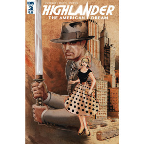 Highlander The American Dream (2017) #3 VF/NM IDW