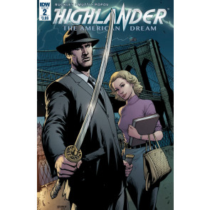 Highlander The American Dream (2017) #2 IDW