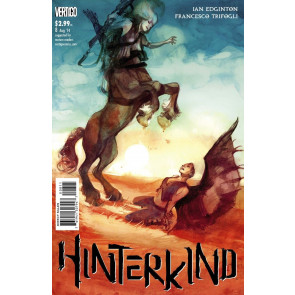HINTERKIND (2013) #8 VF+ VERTIGO