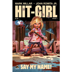 HIT-GIRL (2012) #4 FN/VF MARK MILLAR JOHN ROMITA JR ICON