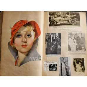 Hollywood 1920's/1930's Scrapbook Joan Crawford Garbo Bette Davis Janet Gaynor|