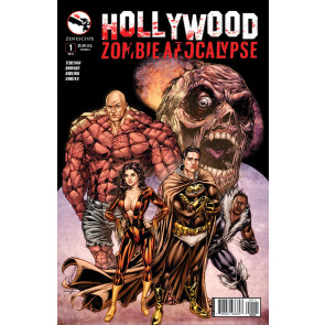 HOLLYWOOD ZOMBIE APOCALYPSE (2014) #1 OF 2 VF/NM COVER A ZENESCOPE