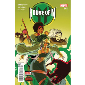 HOUSE OF M (2015) #3 VF/NM SECRET WARS