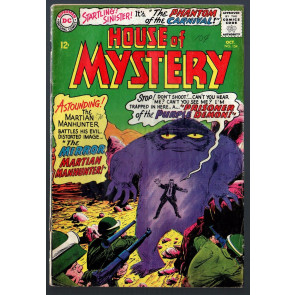 House of Mystery (1952) #154 GD+ (2.5) Martian Manhunter