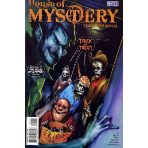 House of Mystery Halloween Annual (2009) #2 VF+ Esao Andrews Cover Vertigo