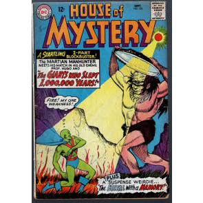 House of Mystery (1952) #153 VG (4.0) Martian Manhunter