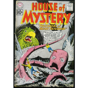 HOUSE OF MYSTERY #113 GD/VG