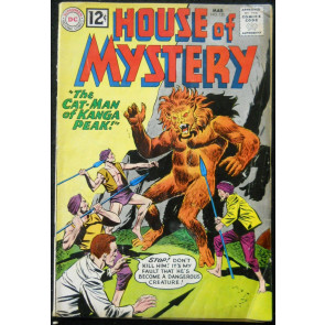 HOUSE OF MYSTERY #120 VG+