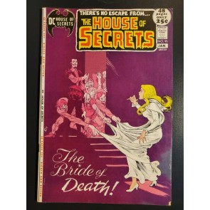 House of Secrets #95 (1975) F/VF (7.0) The Bride of Death|