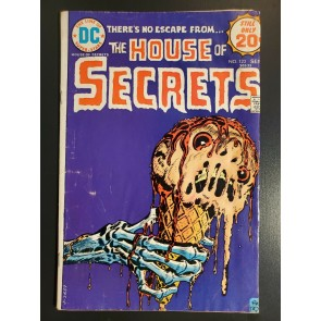 House of Secrets #123 (1974) GVG 3.0 Ice Cream Man like cover |