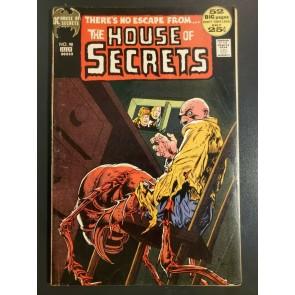House of Secrets #98 (1972) F 6.0 Bronze age horror Mike Kaluta art 