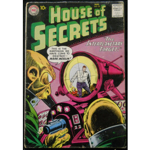 HOUSE OF SECRETS #35 VG+