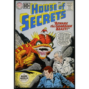 HOUSE OF SECRETS #48 FN+ ALEX TOTH ART