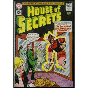 HOUSE OF SECRETS #56 VG