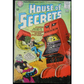HOUSE OF SECRETS #67 GD