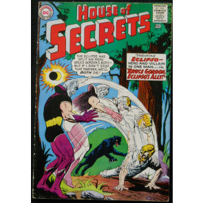 HOUSE OF SECRETS #69 VG/FN