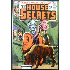 HOUSE OF SECRETS #87 FN+ WRIGHTSON KALUTA ART