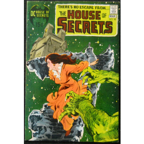 HOUSE OF SECRETS #90 VF- BUCKLER; NEAL ADAMS