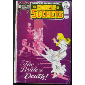 HOUSE OF SECRETS #95 VG-