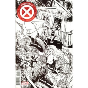 House of X (2019) #1 VF/NM-NM Humbero Ramos Party Sketch Variant Cover