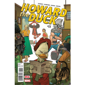 Howard the Duck Series 2 (2015) #11 VF/NM