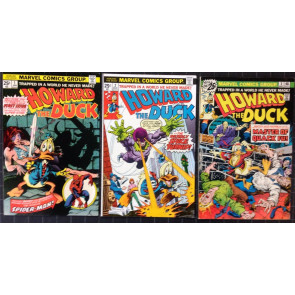 Howard the Duck (1976) #1-31 + Ann.1 near complete set only missing 32 33