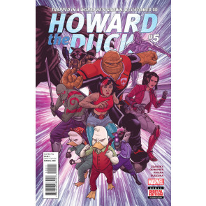 Howard the Duck Series 2 (2015) #5 VF/NM