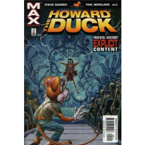 HOWARD THE DUCK (2002) #5 NM MARVEL MAX GLENN FABRY COVER