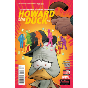 HOWARD THE DUCK (2015) #3 VF/NM