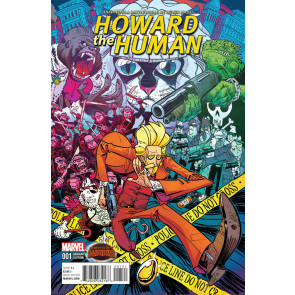 HOWARD THE HUMAN (2015) #1 VF/NM VARIANT COVER