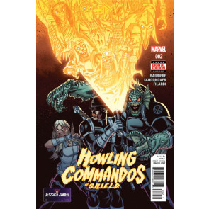 HOWLING COMMANDOS OF S.H.I.E.L.D. (2015) #2 VF+