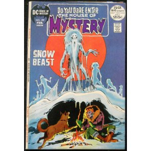 HOUSE OF MYSTERY #199 VF NEAL ADAMS COVER; WOOD ART; KIRBY ART