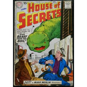 HOUSE OF SECRETS #24 VG