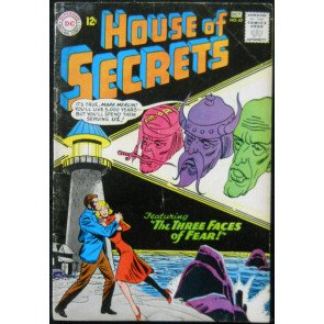HOUSE OF SECRETS #62 VG+
