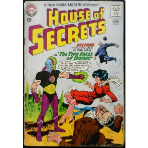 HOUSE OF SECRETS #66 GD/VG
