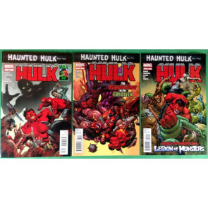 Hulk (2008) 50 51 52 VF/NM (9.0) complete set Haunted Hulk 3 part story arc